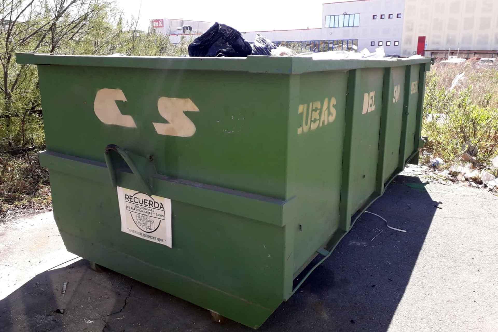 Alquilar cuba y contenedores en sevilla - Cubas del Sur - Reciclaje Sevilla