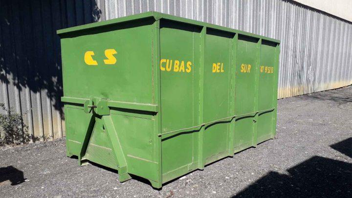 Cubas y contenedores para podas - Cubas del Sur - Reciclaje Sevilla