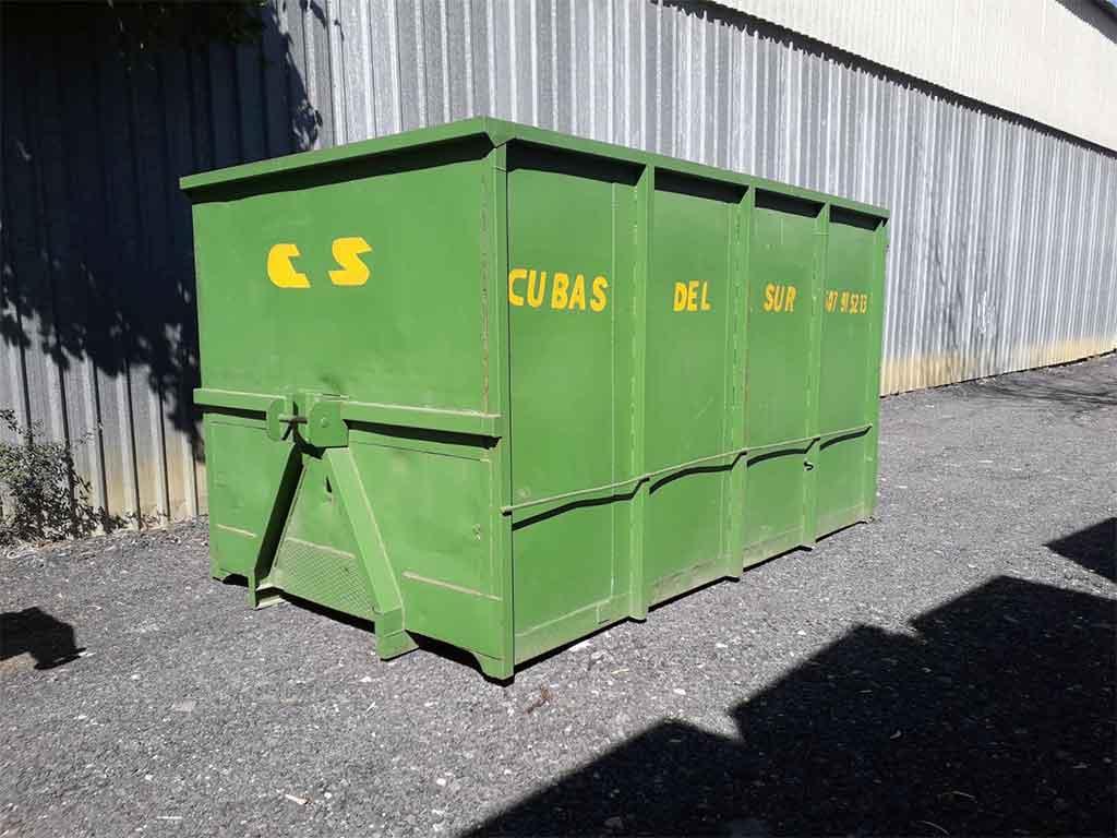 Cubas y contenedores para podas en Sevilla - Cubas del Sur - Reciclaje Sevilla