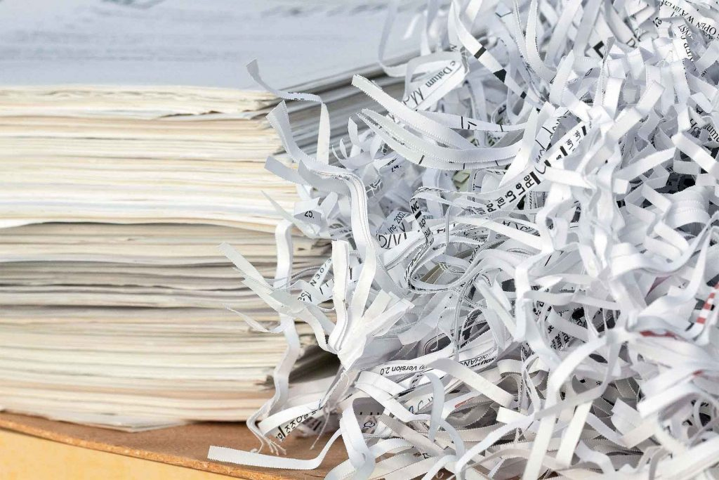 Destrucción de documentos con certificado - Reciclaje Sevilla - Cubas del Sur