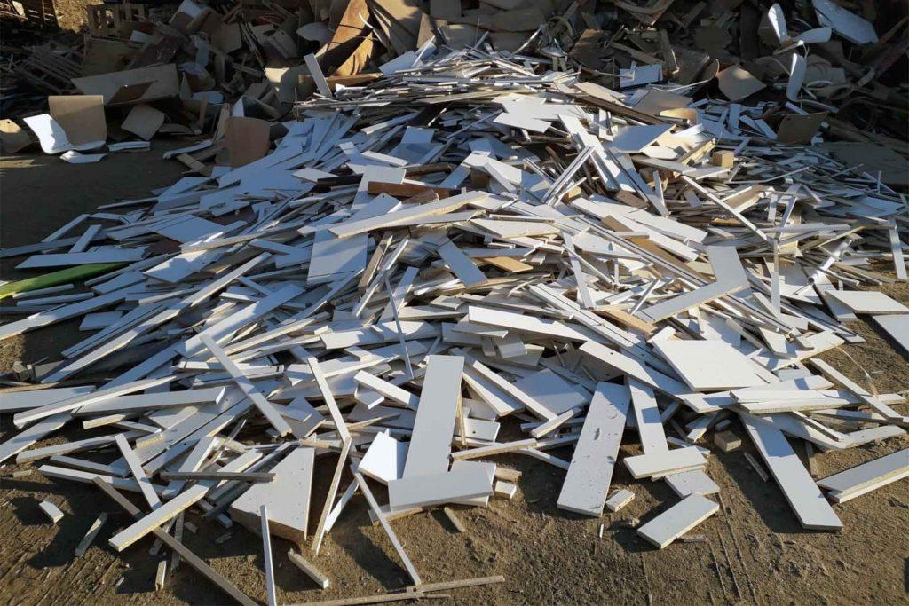 Reciclado de maderas - Reciclaje Sevilla - Cubas del Sur